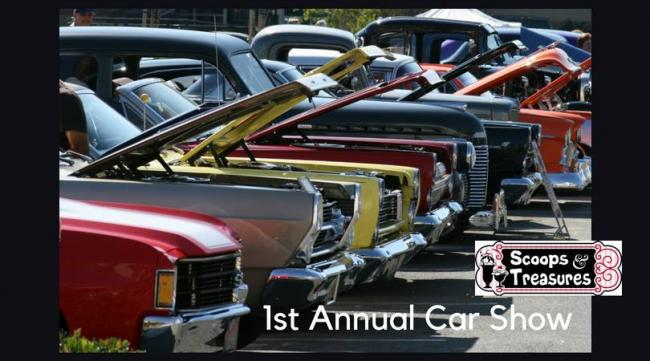 St Annual Car Show At Scoops Treasures Kids Out And About - Car show in indianapolis this weekend